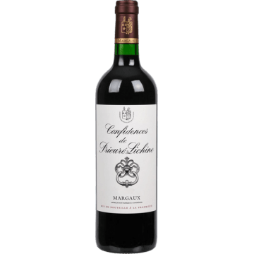 CONFIDENCES  DE  PRIEURE-LICHINE  2011  -  SECONDO  VINO  DEL  CHATEAU  PRIEURE  LICHINE