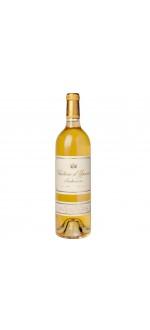 Chateau d'YQUEM - 1er Cru Classé Supérieur 1996 (France - Vin Bordeaux - Sauternes AOC - Vin Blanc - 0,75 L)