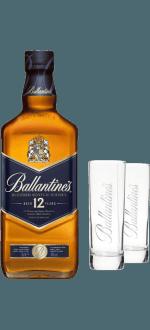 BALLANTINE'S 12 ANNI + 2 BICCHIERI IN OMAGGIO