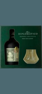 DIPLOMATICO - COFANETTO REGALO 2 BICCHIERI