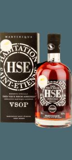 HSE TRES VIEUX RUM AGRICOLE RESERVE SPECIALE VSOP - ASTUCCIATO
