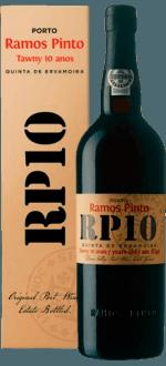 QUINTA DA ERVAMOIRA - 10 ANNI - RAMOS PINTO