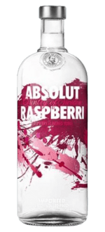 ABSOLUT RASPBERRI - VODKA AROMATIZZATO ALLA FRAMBOISE - ABSOLUT VODKA