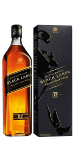 JOHNNIE WALKER BLACK LABEL 12 ANNI - EN ETUI