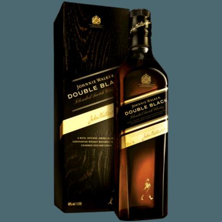 JOHNNIE WALKER DOUBLE BLACK - EN ÉTUI