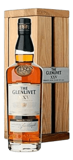 THE GLENLIVET 25 ANNI - EN COFANETTO REGALO