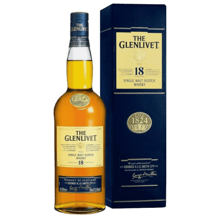 THE GLENLIVET 18 ANNI - EN ETUI