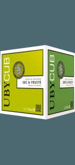 ENOBOX 5L - BLANC SEC UBY CUBE - DOMAINE UBY
