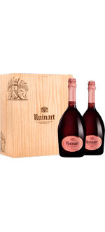 COFANETTO REGALO DUO ROSE - CHAMPAGNE RUINART