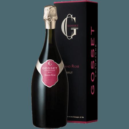 CHAMPAGNE GOSSET - GRAND ROSE - ASTUCCIATIO