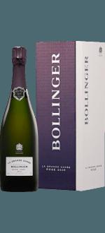 CHAMPAGNE BOLLINGER - LA GRANDE ANNEE ROSE 2005 - CONFEZIONE REGALO