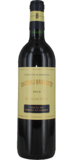 CHATEAU BRILLETTE 2010 - CRU BOURGEOIS