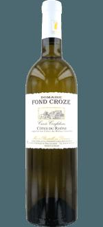 CUVEE CONFIDENCE BLANC 2015 - DOMAINE FOND CROZE