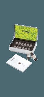 SET 12 AROMI VINO BIANCO & CHAMPAGNE + LIBRETTO - PULLTEX