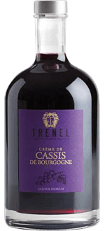 CRÈME DE CASSIS DE BOURGOGNE - DOMAINE TRENEL