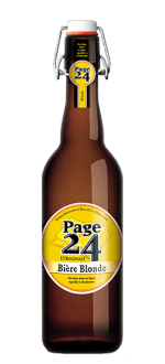 PAGE 24 RESERVE HILDEGARDE BLONDE 75CL - BIRRIFICIO SAINT GERMAIN