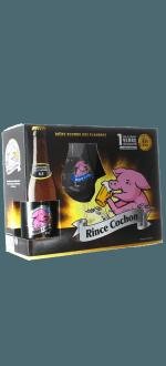 COFANETTO REGALO RINCE COCHON 3X33CL + 1 BICCHIERE - BIRRIFICIO HAACHT