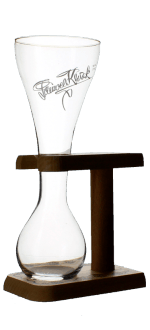 BICCHIERE KWAK + SUPPORT 33CL - BIRRIFICIO BOSTEELS