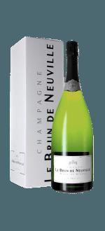 CHAMPAGNE LE BRUN DE NEUVILLE - BRUT CUVEE CHARDONNAY - Magnum