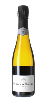 CHAMPAGNE LE BRUN DE NEUVILLE - BRUT CUVEE CHARDONNAY- Mezza Bottiglia