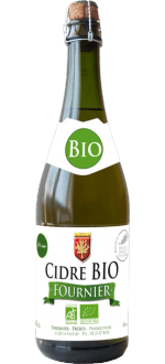 SIDRO DI MELE BIOLOGICO DEMI SEC TRADITION - CIDRE FOURNIER
