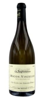 LE CLOS DE GRAND PERE 2013 - LA SOUFRANDIERE (France - Vin BIO Bourgogne - Mâcon-Vinzelles AOC - Vin BIO Blanc - 0,75 L)