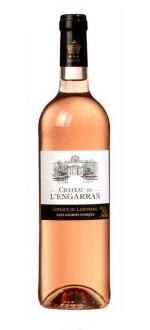 CHATEAU DE L'ENGARRAN ROSE 2014 (France - Vin Languedoc - Coteaux du Languedoc Saint Georges d'Orques AOC - Vin Rosé - 0,75 L)