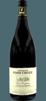 CUVEE CONFIDENCE 2015 - DOMAINE FOND CROZE