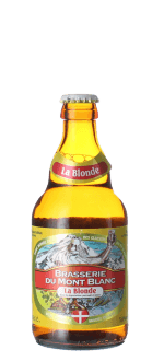 BIONDA DEL MONT-BLANC 33CL - BIRRIFICIO MONT-BLANC