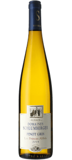 PINOT GRIS 2014 - LES PRINCES ABBES - DOMAINE SCHLUMBERGER