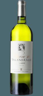 VIRGINIE DE VALANDRAUD BLANC 2014 - SECONDO VINO DI BLANC DE VALANDRAUD