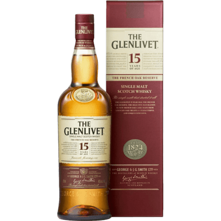 THE GLENLIVET FRENCH OAK 15 ANNI - ASTUCCIATIO