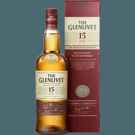 THE GLENLIVET FRENCH OAK 15 ANNI - EN ETUI
