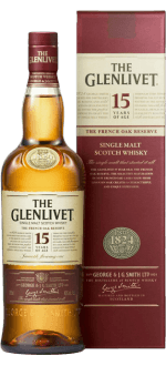THE GLENLIVET FRENCH OAK 15 ANNI - ASTUCCIATIO
