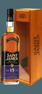 SAINT JAMES RUM VIEUX 15 ANNI - ETUI BOIS