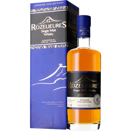 WHISKY FRANCAIS G.ROZELIEURES - ORIGINE COLLECTION - EN ÉTUI