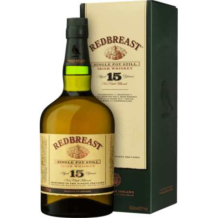 REDBREAST 15 ANNI SINGLE POT STILL - EN ETUI