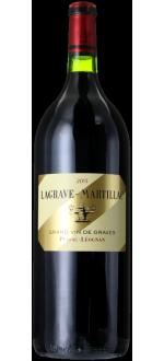 MAGNUM LAGRAVE-MARTILLAC 2015 - SECONDO VINO Chateau LATOUR-MARTILLAC
