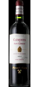LE CLEMENTIN DE PAPE CLEMENT 2014 - SECONDO VINO DEL CHATEAU PAPE-CLEMENT
