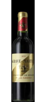 DEMI-BOTTIGLIA LAGRAVE-MARTILLAC 2015 - SECONDO VINO Chateau LATOUR-MARTILLAC