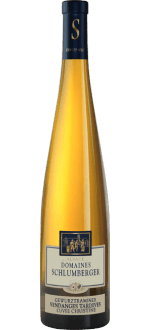 CUVEE CHRISTINE 2015 - VENDANGES TARDIVES - DOMAINE SCHLUMBERGER
