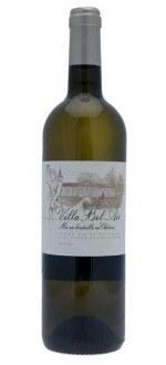 CHATEAU VILLA BEL AIR BLANC 2013 (France - Vin Bordeaux - Graves AOC - Vin Blanc - 0,75 L)