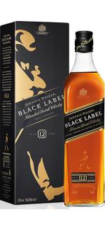 JOHNNIE WALKER BLACK LABEL 12 ANNI - EN ETUI