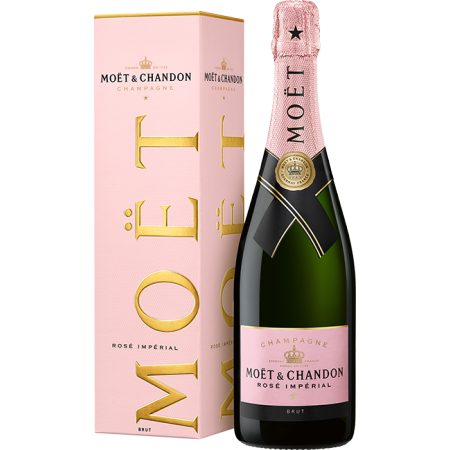CHAMPAGNE MOET & CHANDON - BRUT IMPERIAL ROSE - ASTUCCIATIO