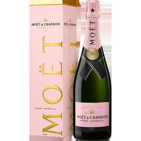 CHAMPAGNE MOET & CHANDON - BRUT IMPERIAL ROSE - EN ETUI