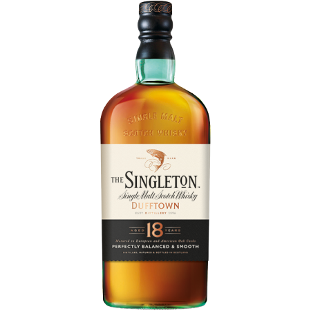 SINGLETON OF DUFFTOWN 18 ANNI