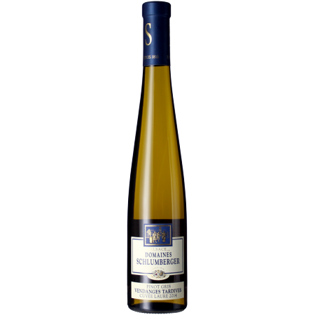 DEMI BOTTIGLIA - PINOT GRIS - CUVEE LAURE 2014 - VENDANGES TARDIVES - DOMAINE SCHLUMBERGER