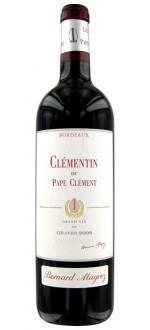 LE CLEMENTIN 2009 - SECOND VIN DU CHATEAU PAPE-CLEMENT (France - Vin Bordeaux - Pessac-Léognan AOC - Vin Rouge - 0,75 L)