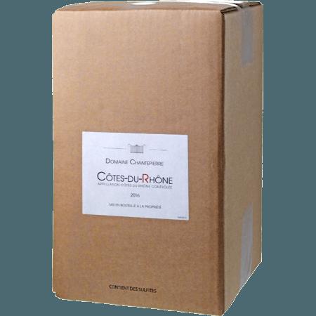 ENOBOX 5L - COTES DU RHONE 2019 - DOMAINE CHANTEPIERRE