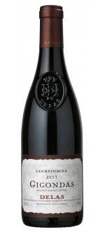 LES REINAGES 2011 - DELAS FRERES (France - Vin Rhône - Gigondas AOC - Vin Rouge - 0,75 L)